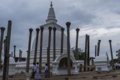 Thuparamaya Daboga in Anuradhapura
