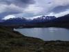 Sicht in Campamento Dickson mit Lago Paine