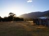 Morgensonne im Campamento Dickson