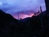 Lichtspiel beim Sonnenaufgang