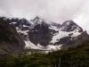 die riesige Südostwand des höchsten Berges des Torres del Paine Nationalpark - Cumbre Principal 3050m ü. M.