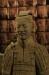 Originaler Terracotta-Krieger im Stadtmuseum Xian's - als Vorgeschmack..