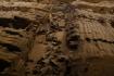 zerstörte Krieger in einem Graben liegend..