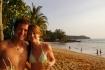 Jeden Sonnenuntergang geniessen wir am Strand mit Mojito & Bier, bis es dunkel ist und wir die letzten am Strand..