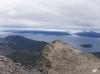 Links Ushuaia und Beagle Kanal