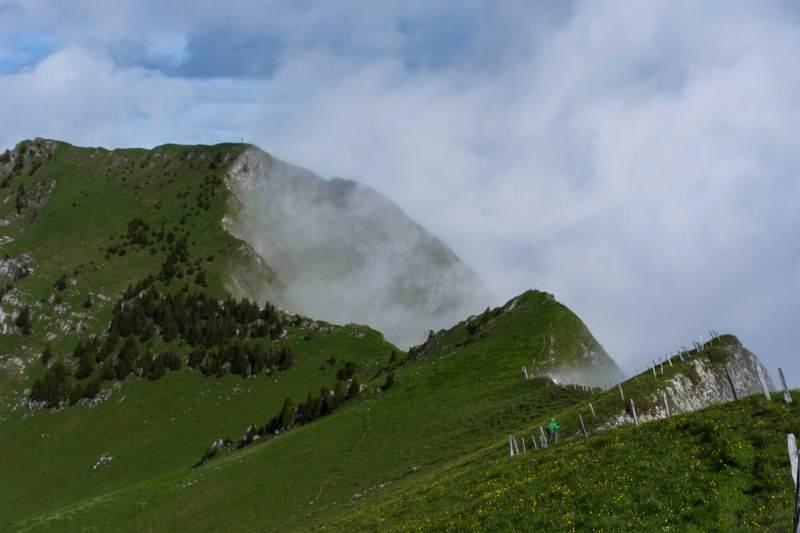 the ridge - Sicht zum Mönschelespitz