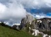 Stockhorn mit dem rechtsseitigen Strüssligrat und links davon Solhorn und Laseberg