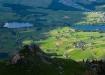 Hinter Älplital und die zwei Seen Uebeschi- und Amsoldingersee