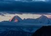 Sonnenaufgang am Eiger/Mönch