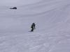 Sarah rocks the snow