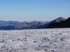 Der steinige Berg ist die Hintere Spillgerte und rechts der spitze hohe Berg ist das Albristhorn