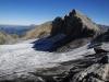 Auf dem Felsübergang zwischen Glacier de Ténéhet und Chilchligletscher