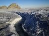 Es fliesst überall auf dem Gletscher