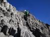 Aufstieg über Fels auf den Mittelgifpel (der 4. 3000er).. :-)