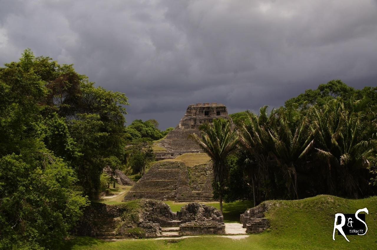 El Castillo - Palast von Xunantunich