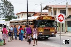 ...per Bus wieder zurück in San Ignacio