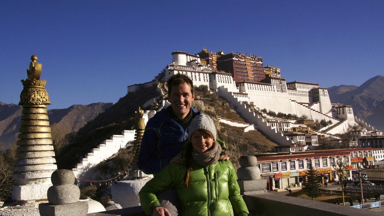 Potala-Palast in Lhasa - Tibet - 23. Dezember 2013