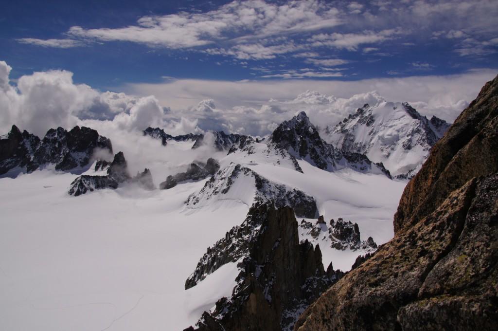 Gipfelaussicht Richtung Süden.