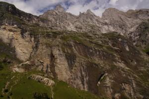 Äbnisgrat auf der westlichen Talseite des Urbachtals