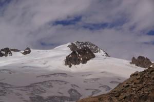 .. und plötzlich zeigt sich doch noch, unser angestrebter Gipfel, das Rosenhorn