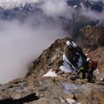 Abstieg über die Normalroute Lagginhorn..