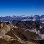 Sicht in die Berner Alpen
