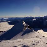 Bishorn-Ostgipfel Pointe Burnaby 4135m