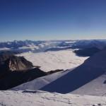 Pointe Burnaby über dem Nebel
