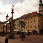 Die Innenstadt von Klagenfurt