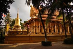 Wat Piphetthearam in Battambang