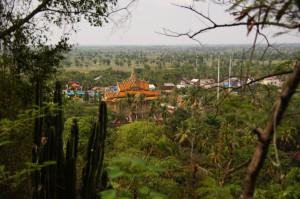 Ausblick vom Phnom Sampeau