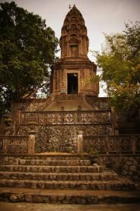 Tempel auf dem Phnom Sampeau