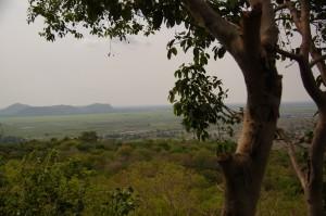 Kambodscha ist grösstenteils flach..