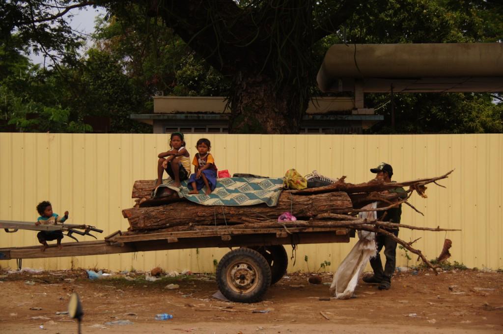 kambodschanische Strassenszene