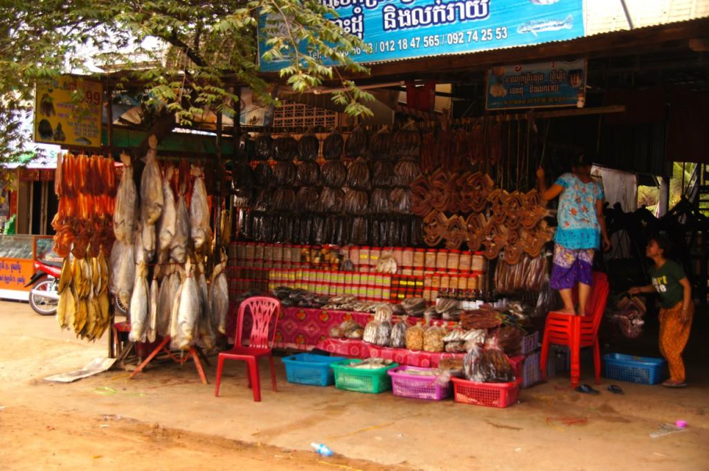 getrockneter Fisch aller Art - scheinbar nährhafte Reserve gut konserviert - Räphu mag den Fisch! :-b