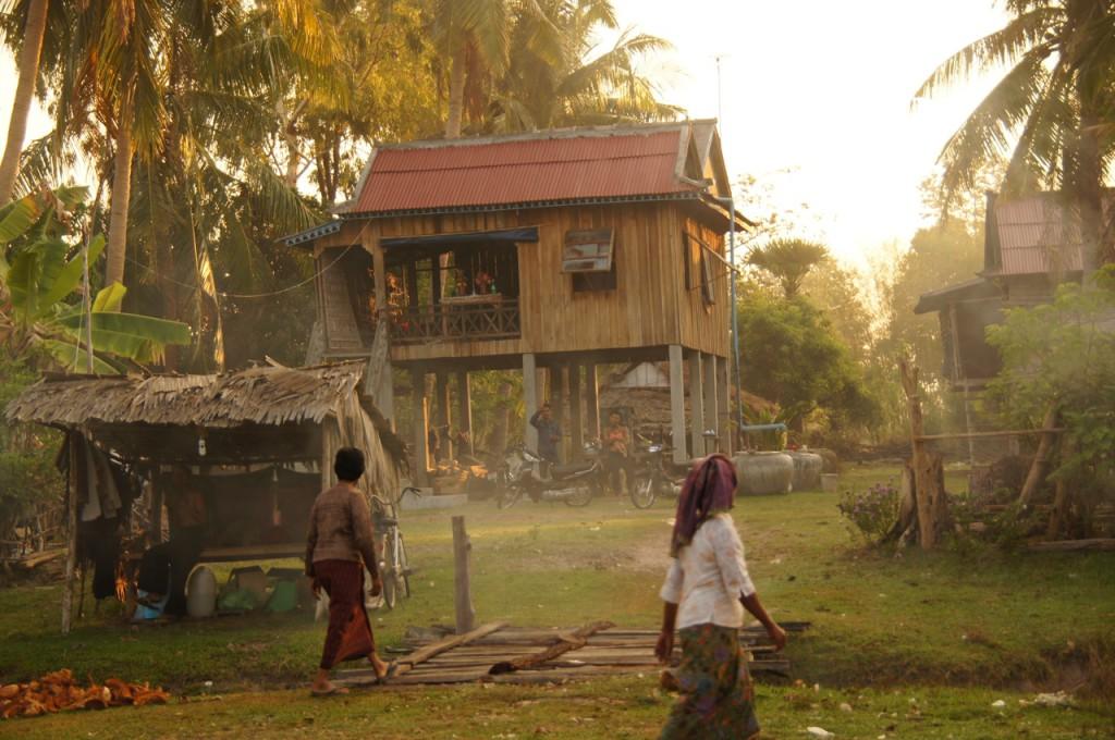 kambodschanisches Dorfleben I