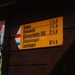 Ab der Alp Chäseren kurbelt sich der Weg dann so richtig in die Höhe gegen die Glärnischhütte SAC.