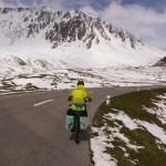 hochalpin unterwegs - doch diesmal auf zwei Räder - Oberalppass