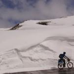 noch hat es hier oben Berge von Schnee!