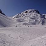 zugefrorener Iffigsee