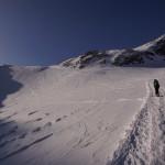 Übergang vom Chilchligletscher zum Glacier du Ténéhet