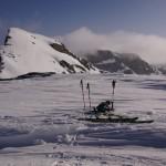 have a break! beim Übergang vom Chilchligletscher zum Glacier du Ténéhet