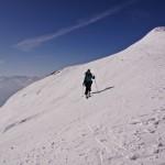 kurz vor dem Sattel zwischen den beiden Wildhorn-Gipfeln