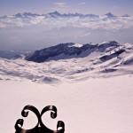Glacier du Wildhorn und Gipfelkreuz-Spitz