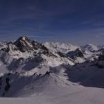 Ausblick vom Piz Traunter Ovaz 3152m