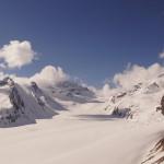 Konkordiaplatz und Aletschgletscher