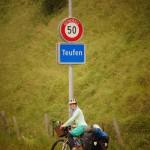 unbekanntes Terrain en vélo erreicht - die beiden Kantone Appenzell, ganz weit weg vom Berner Oberland!