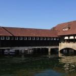 Badhütte Rorschach am Bodensee,  erbaut 1924.