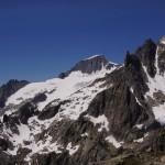 morgiges Ziel im Visier - Galenstock mit der eindrücklichen Gipfelwächte