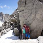 hohe Übergänge fühlen sich manchmal wie Gipfel an - Lochberglücke 2815m